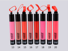 Brand Women's lipgloss Waterproof Beauty Makeup LipStick Velvet matte Lip Pencil Lipstick long lasting  Lip Gloss Lip 20 Colors(China (Mainland))