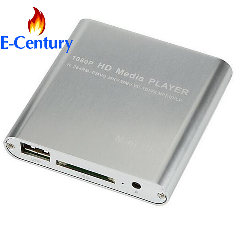 MANYTEL Mini Hd Player 1080P USB External Hdd Player With SD MMC Card Reader HOST OTG Support Mkv Hdmi Hdd Media Player(China (Mainland))