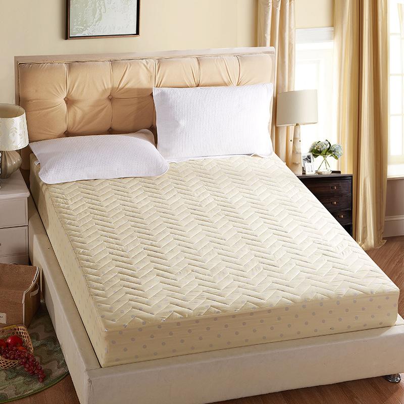 achetez en gros beige matelass couvre lit en ligne des. Black Bedroom Furniture Sets. Home Design Ideas