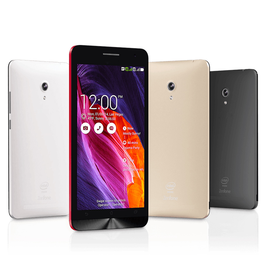 "Original ZenFone 6 Cell Phones For ASUS Intel Atom Z2580 Dual Core 3G Android smartphone 6.0"" 2GB RAM 16GB ROM Dual SIM 13.0MP(China (Mainland))"
