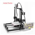 Reprap i3 3d Printer LCD Display Diy 3d Printing Kit High Precision 3d printer With One