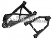 Buy baja front suspension arm set for1/5 HPI baja 5b Parts KM ROVAN for $13.80 in AliExpress store