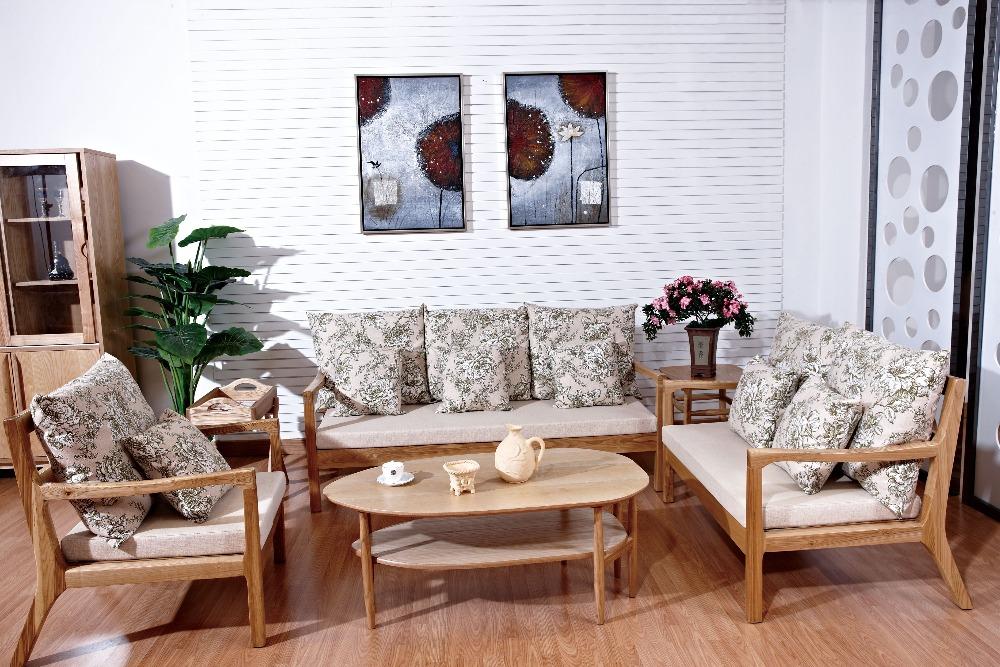 Buy High Quality Living Room Furniture Wooden Sofa Home Sofa