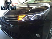 Buy Free Vland Facory warehouse Corolla Altis 2014-2016 LED headlight model headlamp plug play design for $525.00 in AliExpress store