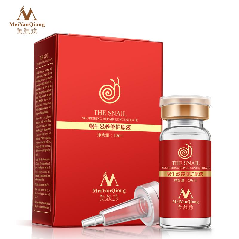 Snail vitamin c serum anti aging anti wrinkle Acne skin bleaching cream dark lightening cream instantly ageless Lift Firming(China (Mainland))