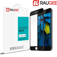 2016 Ultra Thin RAUGEE 3D Full Cover Tempered Glass 5.5″ for Apple iPhone 7 plus Phone Screen Protector Film for iphone 7 plus