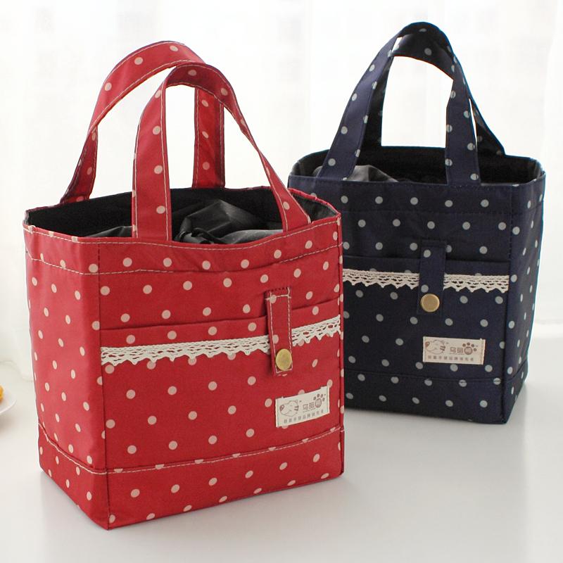 Гаджет  Thickening canvas handbag lunch bag lunch box bag lunch bags cooler bag 13356 None Камера и Сумки