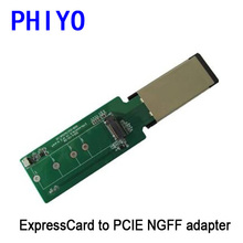 ExpressCard to PCIE M.2 NGFF SSD adapter (air ultrabook), ExpressCard to M.2 NGFF PCIE SSD adapter(China (Mainland))