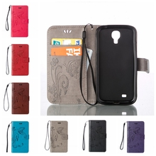 Buy S4 Mini Leather Case Wallet flower Pattern Cases Samsung galaxy S4 Mini GT-I9195 I9192 I9190 Cover Phone Case Coque for $2.98 in AliExpress store