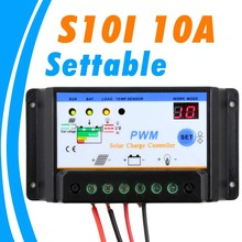 Buy 2015 NEW 10A Solar Charge Controller 12V 24V settable Solar Panel Charger controller GEL Battery Charger Flooded Sealed Battery for $9.91 in AliExpress store