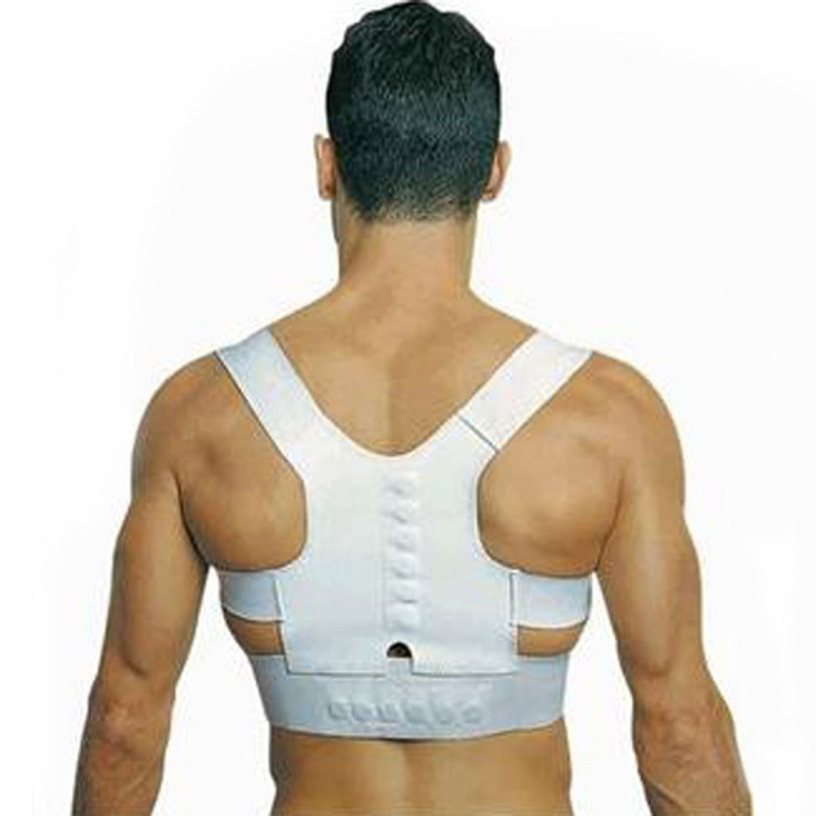 Best Deal Men Women Magnetic Posture Support Corrector Back Belt Pain Feel Young Belt Brace Shoulder Chest Belt Size S-2L 1pcs(China (Mainland))