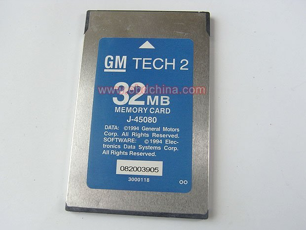 for GM Tech-2 Flash 32 MB PCMCIA Memory Card [Grass-OBDChina] (gmc,for gm parts,for gm daewoo)