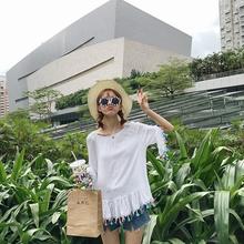Mihoshop Ulzzang Korean Korea Women Fashion Clothing Harajuku all-match shirt female elastic sleeve Blouses 735 Free Shipping(China (Mainland))
