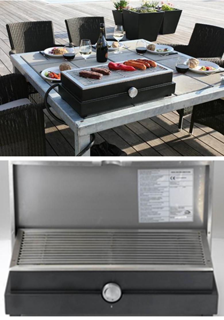 barbecue en pierre haut de gamme