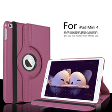 Buy Wholesale Solid Covers iPad Mini 4 7.9'' Case Smart 360 Rotating Stand Smart Cover iPad mini4 Tablet Protective Shell for $7.45 in AliExpress store