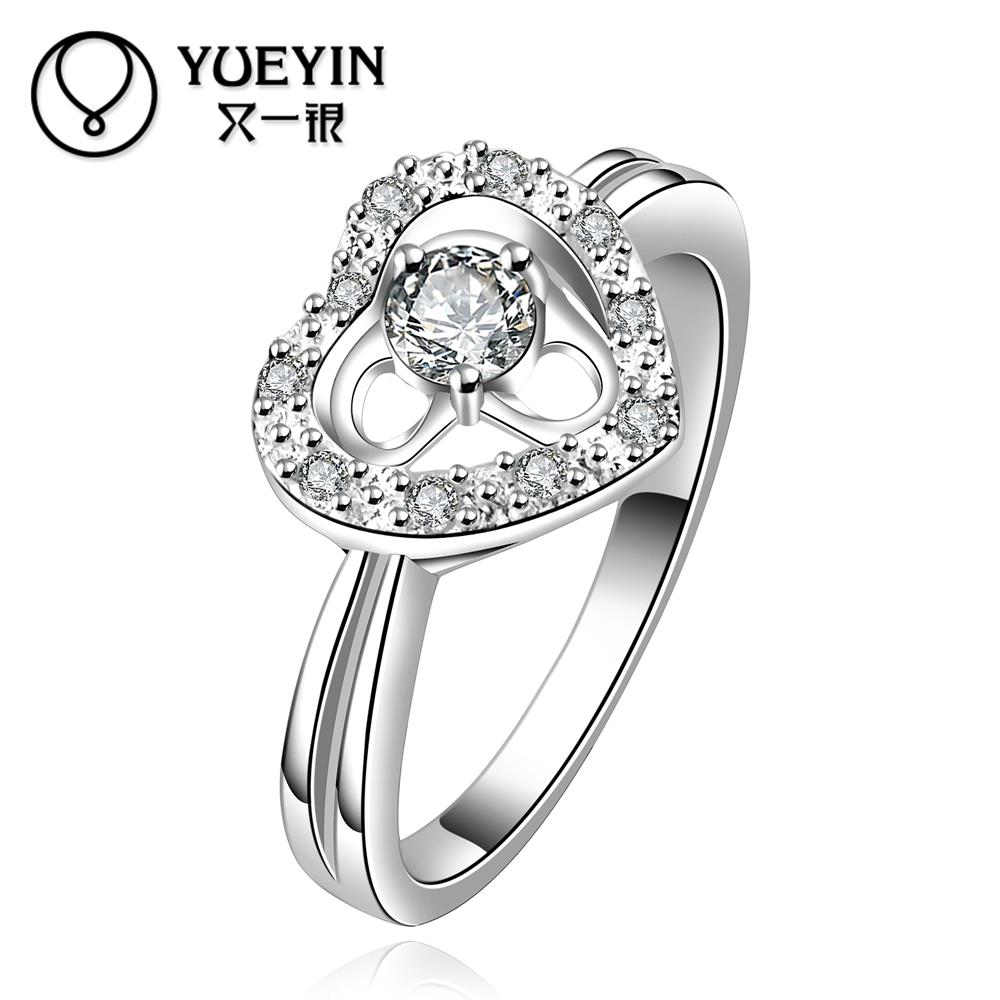 R643-B Hot Promotion wholesale Top quality 925 Silver new design women ring 5 pieces/lot(China (Mainland))