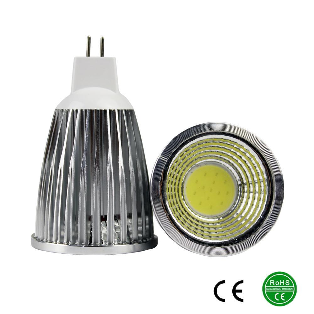 MR16 Bulbs Light Led AC/DC 12V 9W 12W 15W COB LED lamp light led Spotlight(China (Mainland))