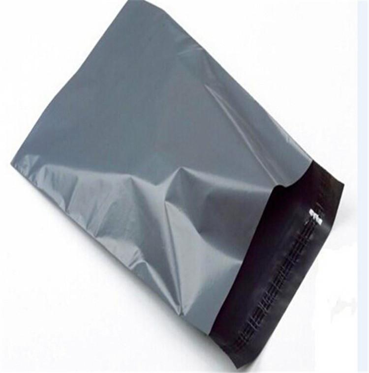 200pcs lot 20*30cm Hot Grey self-seal mailbag Express Bag Poly Mailer Mailing Bag The courier bags(China (Mainland))