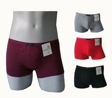 Hot Sale Fashion Brand Underwear Men Cotton Cueca Solid Household Sport Boxer Breathable Shortrts Men Cuecas Boxer