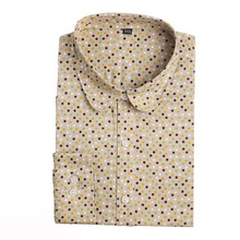 Clearance ! Brand Floral Blouses Cotton Shirts Women Vintage Turn-Down Collar Tops Blusas Ladies Clothing Long Sleeve Blouse(China (Mainland))