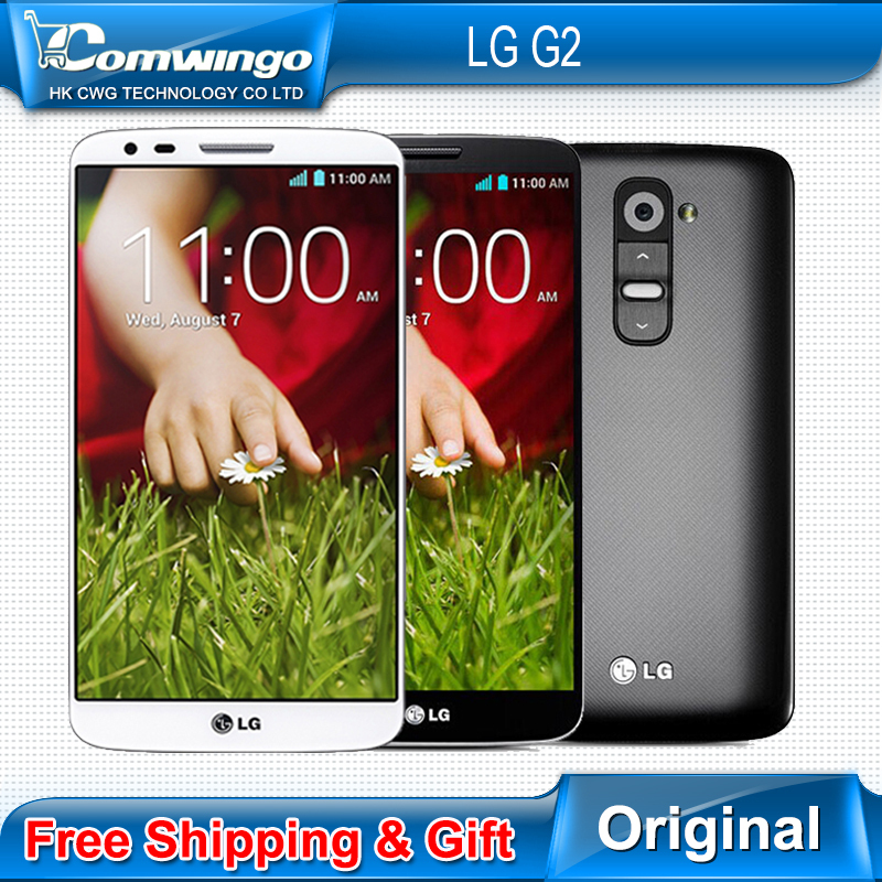Original Unlocked LG G2 F320 D800 D802 moblie Phone Quad Core 5.2'' 2G RAM 16GB ROM Qualcore13MP Camera WCDMA LTE NFC WIFI GPS(China (Mainland))
