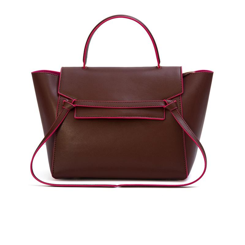 Smiley Genuine Leather Bags Trapeze Women Handbag Designer Brand High Quality Shoulder Messenger Bags Phantom Famous Brand Bag(China (Mainland))