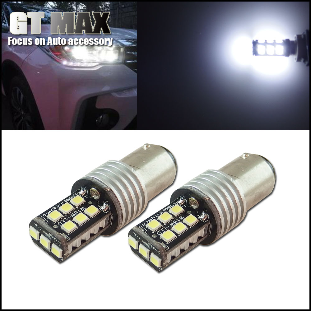2pcs Error Free HID Xenon White 1157 2357 15-SMD LED Projector Bulbs 12V Car Turn Signal Parking Lights DRL 1154 3497 2057 7528(China (Mainland))