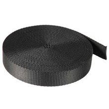 10 Yards Black Nylon Webbing 1 Inch wide for bags strap nylon(China (Mainland))