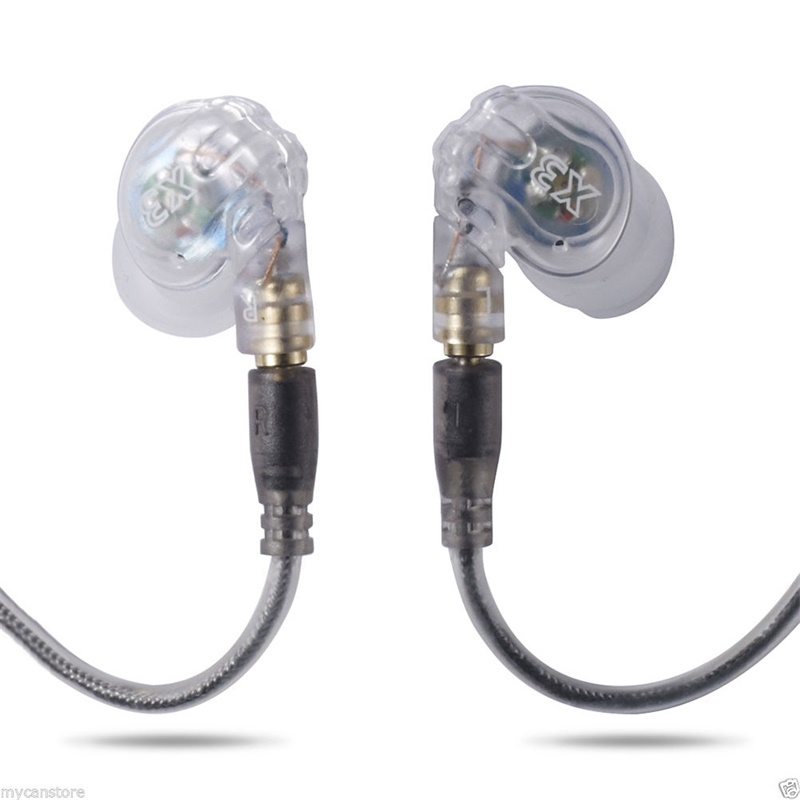 Moxpad X3 Sport In-Ear Sound Isolating Headphone Earphones with Mic for MP3 player MP4 Mobile Phones(China (Mainland))