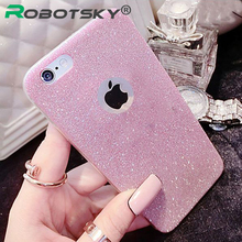 6 s 6S New 2016 Fashion Cute Candy luxury Sparkling Phone Cases for iPhone6 6 S 5 5S 6 Plus 6 SPlus Shinning phone case