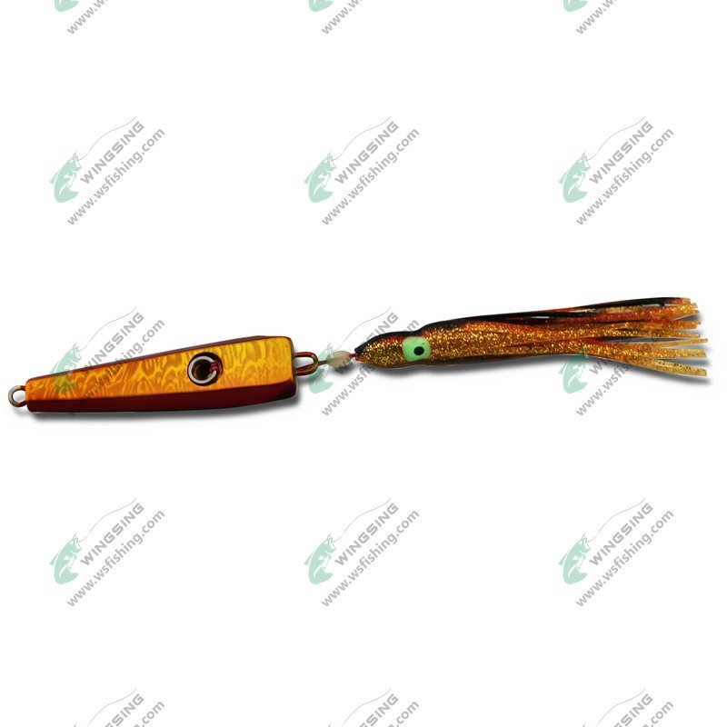 Salt water fishing lures japanese lures with octopus skirt for Japanese fishing lures