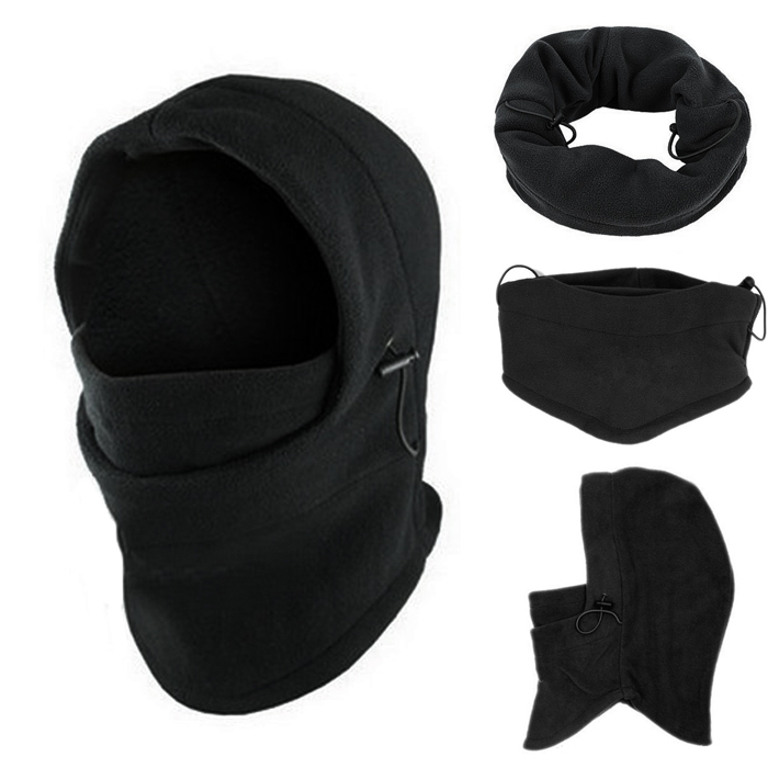 New 2015 Hot Sale Thermal Fleece Balaclava Hood Police Swat Ski Bike Wind Winter Stopper Face Mask For Skullies & Beanies(China (Mainland))