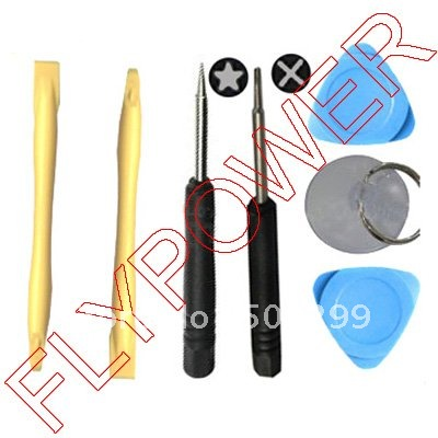 7 in 1 Opening Tools Set for iphone 4 4g 4S and 5 by free DHL, UPS or EMS: 50pcs/lot