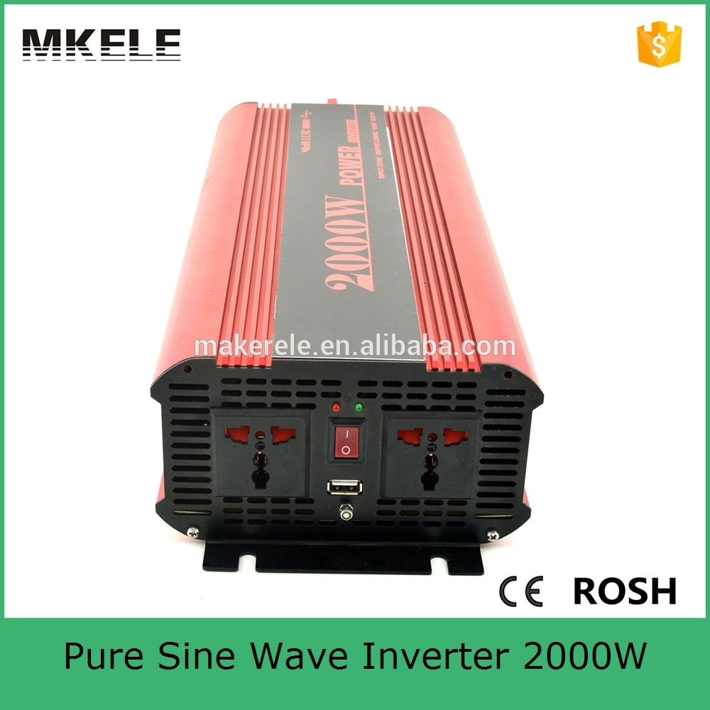 MKP2000-481R pure sine wave inverter 2kw solar inverter 2000w 48vdc 110vac off grid single output power inverter(China (Mainland))