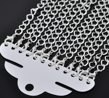 """12pcs Silver Plated Lobster Clasp Link  Bracelets Fashion Chain Bracelets , Approx 20cm (7-7/8"""") long, , Free Shipping (B14183)(China (Mainland))"""