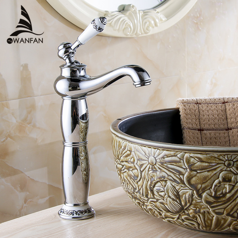 Brass Bathroom Single Handle Mixer Tap Chrome Finished: Free-shipping-Hot-selling-Bathroom-Faucet-Mixers-Chrome
