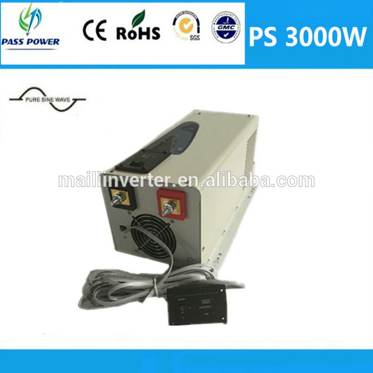 Low frequency inverter, 12v/24v pure sine wave 2000w hybrid inverter, charger and UPS(China (Mainland))