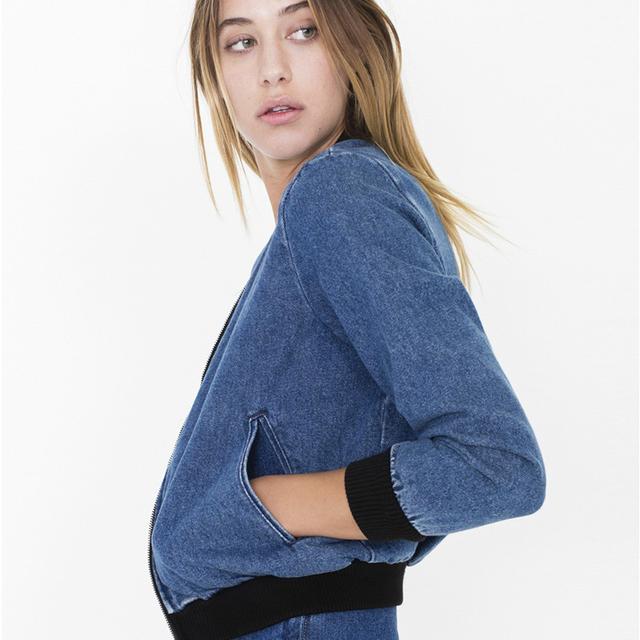Американский одежды стиль а . а . старинные красивый старый вид джинсовой верхняя ...