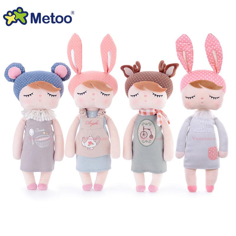 Genuine Metoo Angela plush dolls baby toy for children girl kids toys gift Lace Bunny Rabbit stuffed & plush animals with box(China (Mainland))
