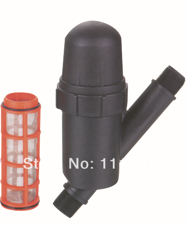Garden&agriculture water filter screen filter male thread 3/4 inch disc filter 120mesh 2015 HOT(China (Mainland))