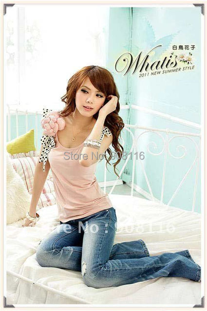 Korean Style Women's Fashion Sleeveless T Shirts/top Clothes,new Style Ladies Slim Summer T Shirt,pink,white,wholesale/x003