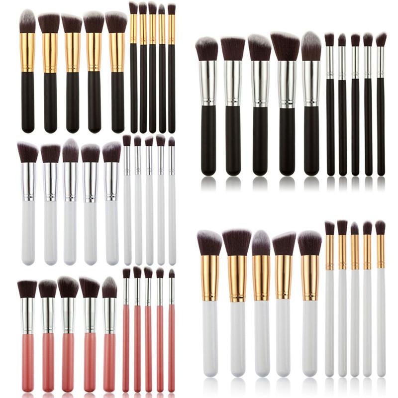 Гаджет  New 10pcs Professional Makeup Brush Set Cosmetic Brushes Foundation Eyeshadow women