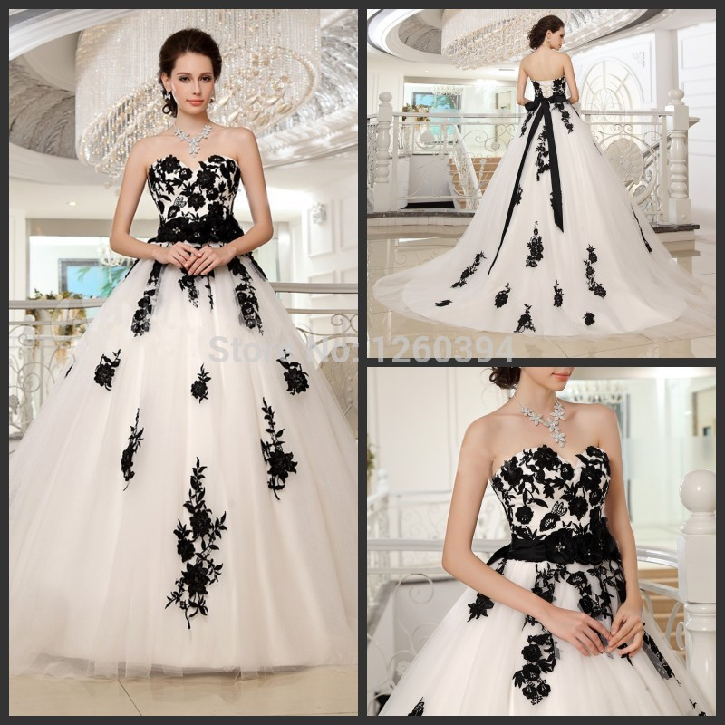 Online Get Cheap Ball Gown Black and White -Aliexpress.com ...