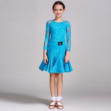 標準のドレス黄色、青、緑スカート夏職業子供競争美容社交衣服 Y10481(China)