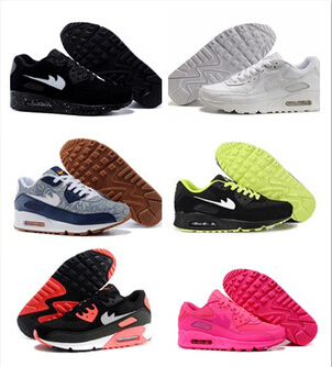 2015 HOT SALE Women AIR 90 VT Hyperfuse Running Shoes fashion Lady Walking Shoes Fashion Sport Running Sneakers Max Size 36-40(China (Mainland))