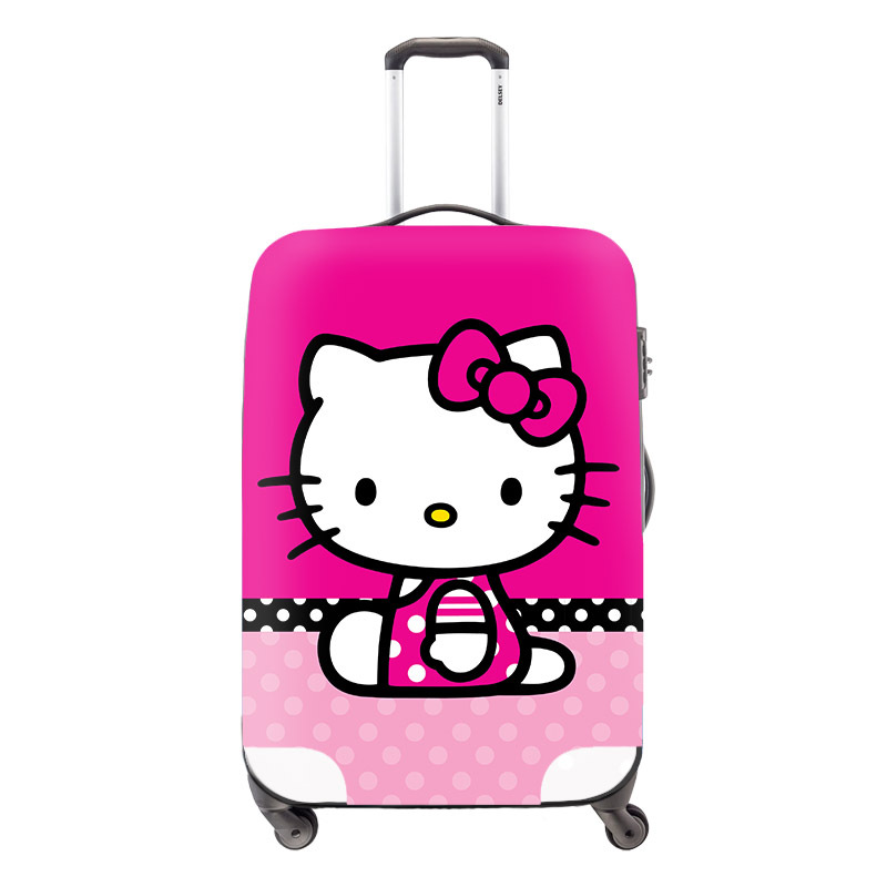 Cute Cat 3D Girls Suitcase Cover Kids Luggage Wateroof Protective Cover Women Travel Accessories Supply 18-30 inch Torrley Case<br><br>Aliexpress