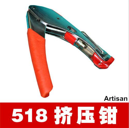 NEW VERSION Cable Pressing Forceps Hand Crimping Pliers / Crimping Tool for RG58 RG59 RG6 SMA UHF RCA Coax BNC TNC(China (Mainland))