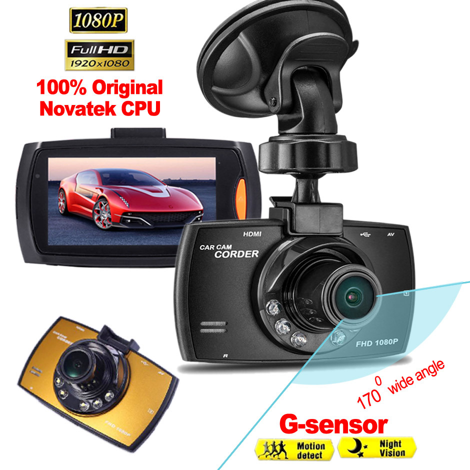 "Original G30 Novatek 2.7"" 170 Wide Angle Full HD 1080P Car DVR Camera Recorder Motion Detection Night Vision G-Sensor(China (Mainland))"