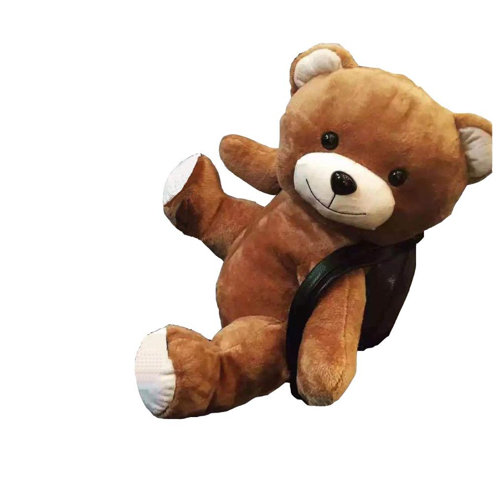 New Style Teddy Bear Bag Fresh Cute Cartoon Shoulder Bag With Little Cute Bear Two Size Cartoon Bag YQ1112008<br><br>Aliexpress