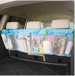 110cm*34cm Car Trunk Organizer Seat Cover Toys DVD Storage Container Bags Automobiles Auto Styling Accessories Supplies Products(China (Mainland))